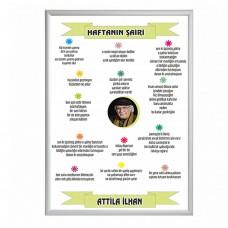 Haftanın şairi Attila İlhan