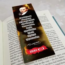 Atatürk temalı kitap ayraçları