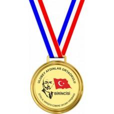 İstiklal Marşı'nı Güzel Okuma Yarışması Madalyası