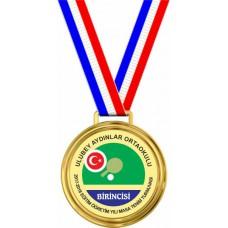 Masa Tenisi Turnuvası Madalyaları