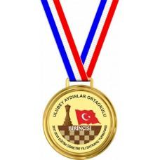 Satranç Turnuvası Madalyaları