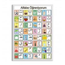 Osmanlı Alfabesi Afişi
